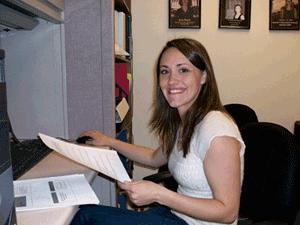 CRC Intern Nicole Avalear